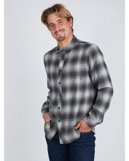 5 Coastline Flannel Shirt Noir L1SH04BIF8 Billabong