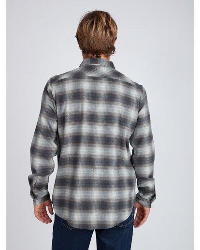 6 Coastline Flannel Shirt Noir L1SH04BIF8 Billabong