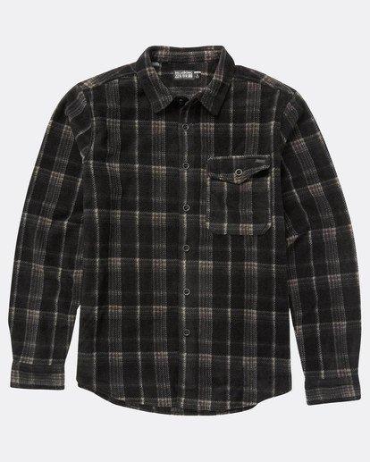 0 Furnace Dwr Flannel Shirt Noir L1SH05BIF8 Billabong