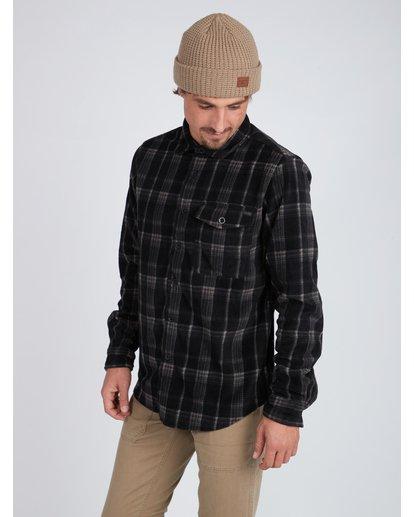 2 Furnace Dwr Flannel Shirt Noir L1SH05BIF8 Billabong