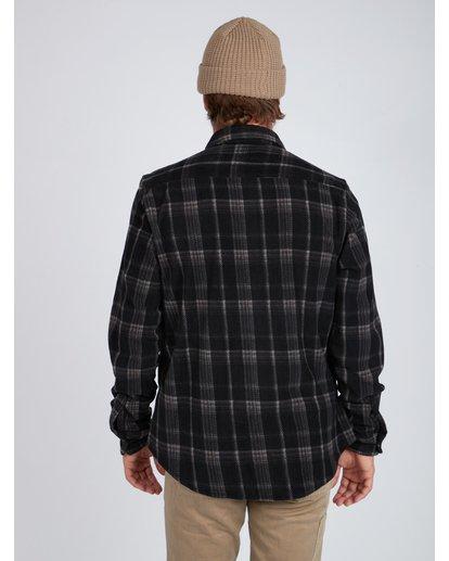 3 Furnace Dwr Flannel Shirt Noir L1SH05BIF8 Billabong