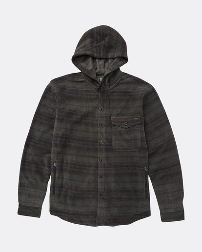 0 Furnace Dwr Hooded Shirt Gris L1SH06BIF8 Billabong