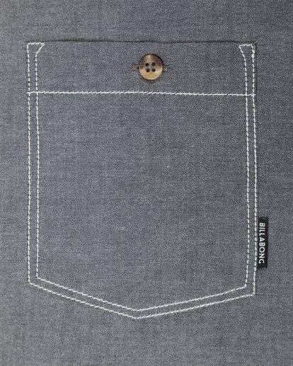 2 All Day Chambray Long Sleeve Shirt Gris L1SH09BIF8 Billabong