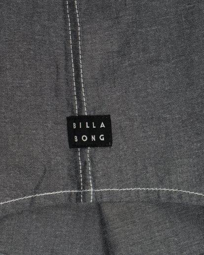 4 All Day Chambray Long Sleeve Shirt Gris L1SH09BIF8 Billabong