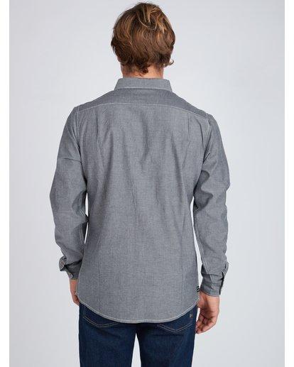 7 All Day Chambray Long Sleeve Shirt Gris L1SH09BIF8 Billabong