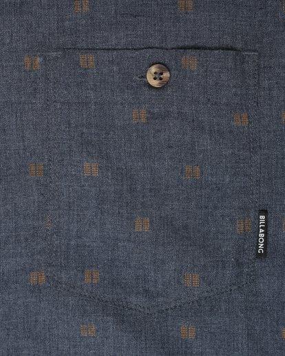 1 All Day Jaquard Long Sleeve Shirt Bleu L1SH10BIF8 Billabong