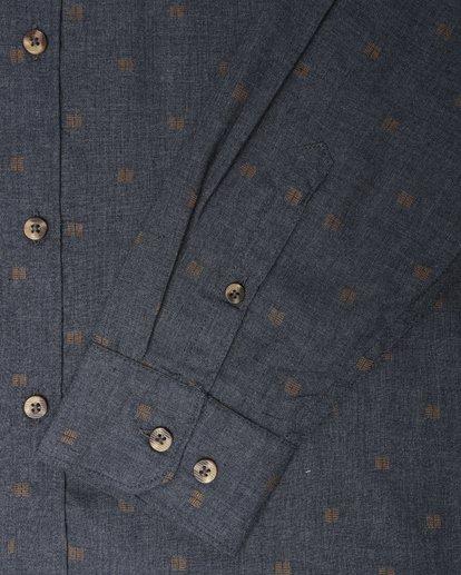 3 All Day Jaquard Long Sleeve Shirt Bleu L1SH10BIF8 Billabong