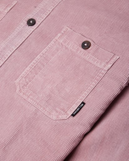 1 Wave Washed Corduroy Shirt Pink L1SH11BIF8 Billabong