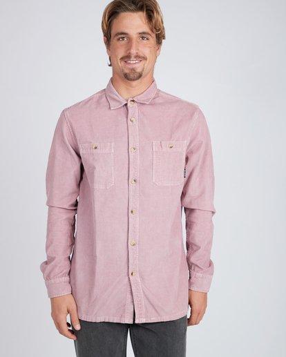2 Wave Washed Corduroy Shirt Pink L1SH11BIF8 Billabong