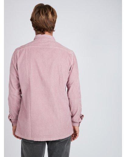 4 Wave Washed Corduroy Shirt Rose L1SH11BIF8 Billabong