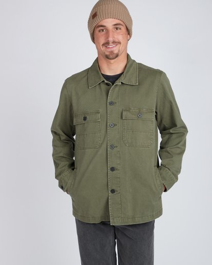 4 Collins Jacket Shirt  L1SH12BIF8 Billabong