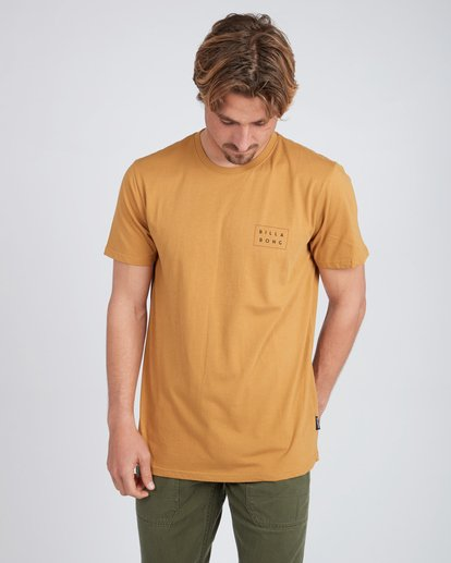 2 Die Cut T-Shirt Yellow L1SS02BIF8 Billabong