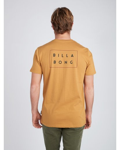 4 Die Cut T-Shirt Yellow L1SS02BIF8 Billabong