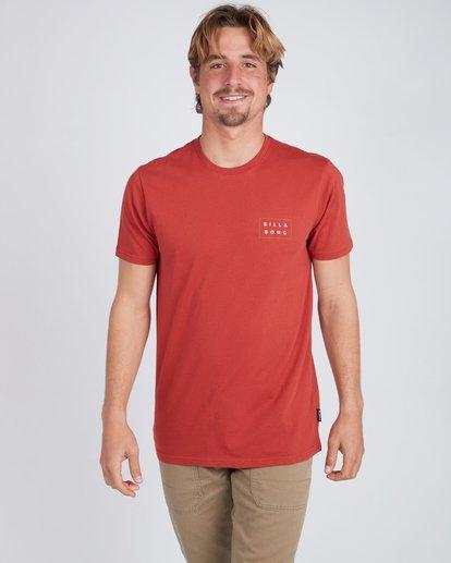 2 Die Cut T-Shirt Red L1SS02BIF8 Billabong
