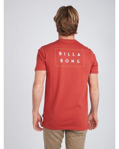 4 Die Cut T-Shirt Red L1SS02BIF8 Billabong