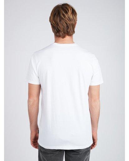 5 Stacked T-Shirt Blanc L1SS03BIF8 Billabong