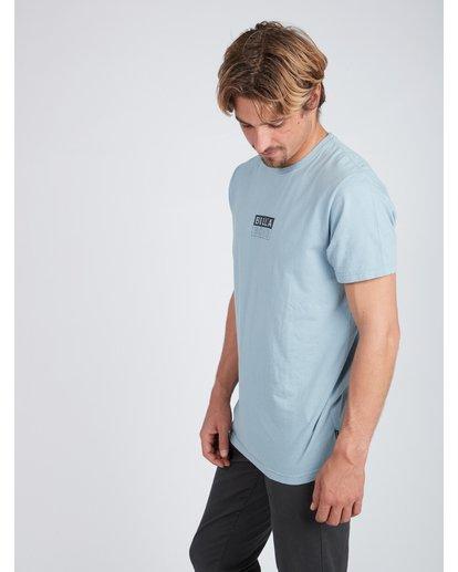2 Virtue T-Shirt Blue L1SS04BIF8 Billabong