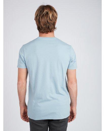3 Virtue T-Shirt Blue L1SS04BIF8 Billabong