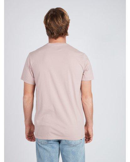 3 Virtue T-Shirt Pink L1SS04BIF8 Billabong