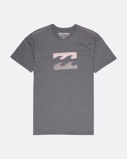 0 Wave T-Shirt Gris L1SS06BIF8 Billabong