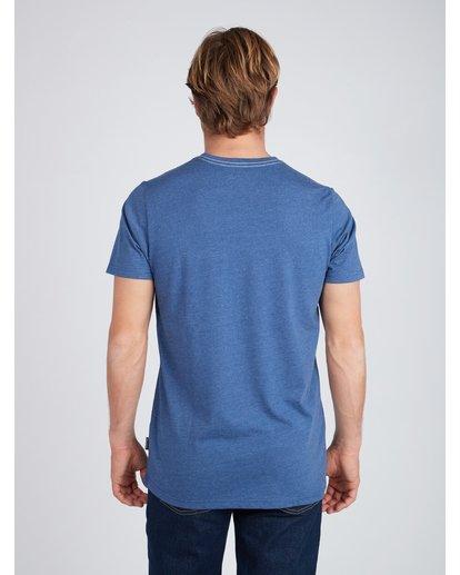 5 Wave T-Shirt Azul L1SS06BIF8 Billabong
