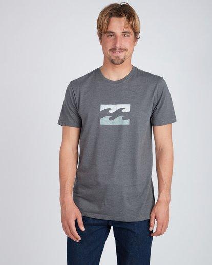 3 Wave T-Shirt Gris L1SS06BIF8 Billabong