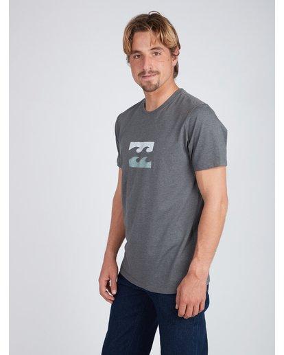 4 Wave T-Shirt Gris L1SS06BIF8 Billabong