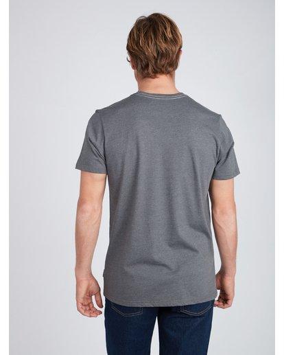 5 Wave T-Shirt Gris L1SS06BIF8 Billabong
