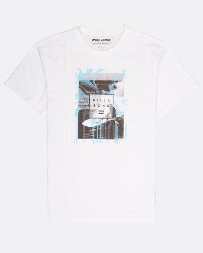 0 Stacked Photo T-Shirt White L1SS07BIF8 Billabong