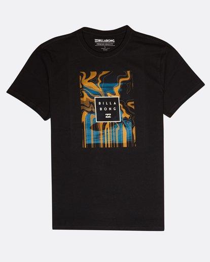 0 Stacked Photo T-Shirt Black L1SS07BIF8 Billabong