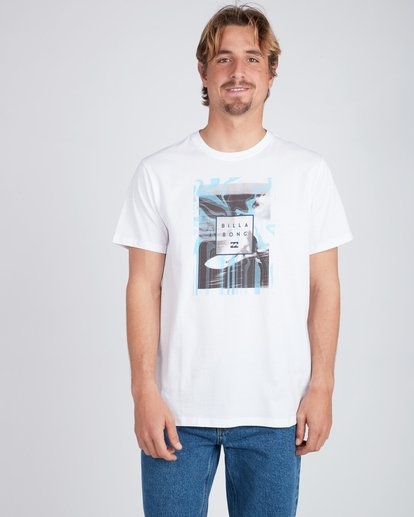 1 Stacked Photo T-Shirt White L1SS07BIF8 Billabong