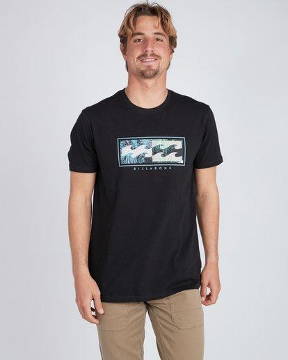 2 Inversed T-Shirt Schwarz L1SS08BIF8 Billabong