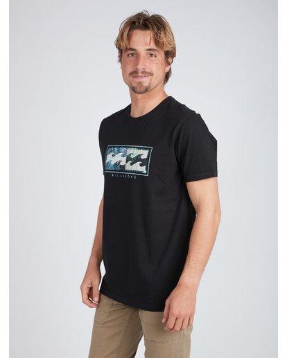 3 Inversed T-Shirt Noir L1SS08BIF8 Billabong