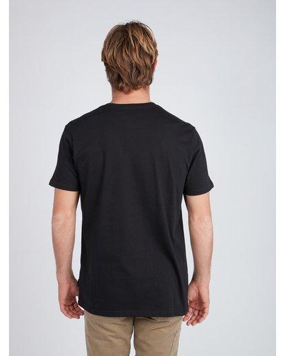 4 Inversed T-Shirt Schwarz L1SS08BIF8 Billabong