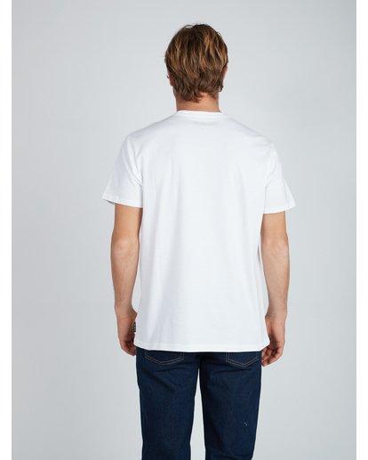 3 Relaxed T-Shirt White L1SS10BIF8 Billabong