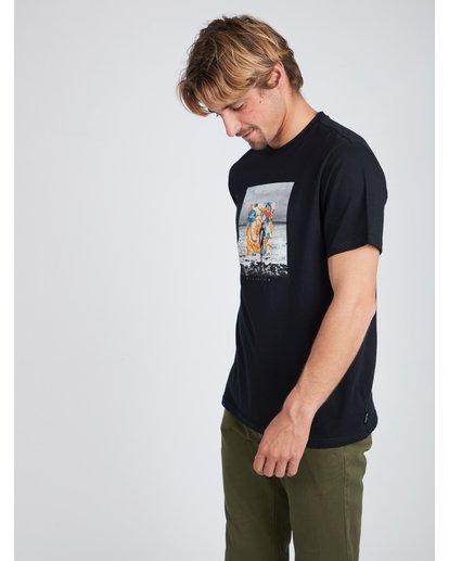2 Framed T-Shirt Noir L1SS11BIF8 Billabong