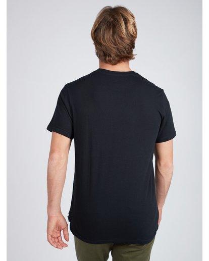 3 Framed T-Shirt Noir L1SS11BIF8 Billabong