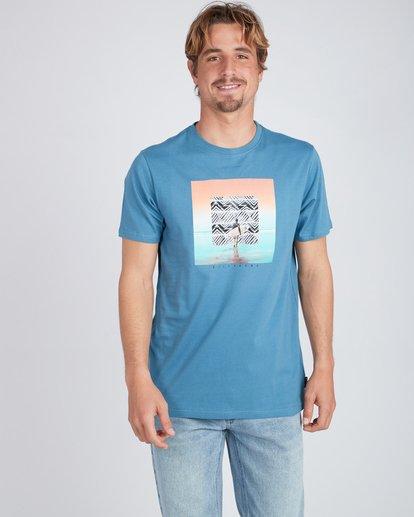 1 Framed T-Shirt Blau L1SS11BIF8 Billabong