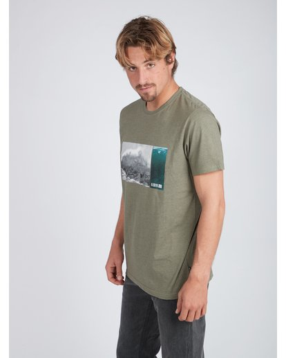 3 Swell Seeker T-Shirt Gemustert L1SS12BIF8 Billabong