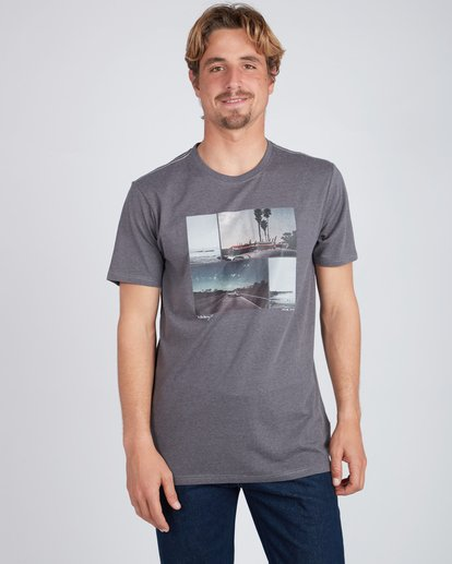 1 The Road T-Shirt Black L1SS13BIF8 Billabong