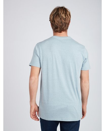 3 The Road T-Shirt Blue L1SS13BIF8 Billabong
