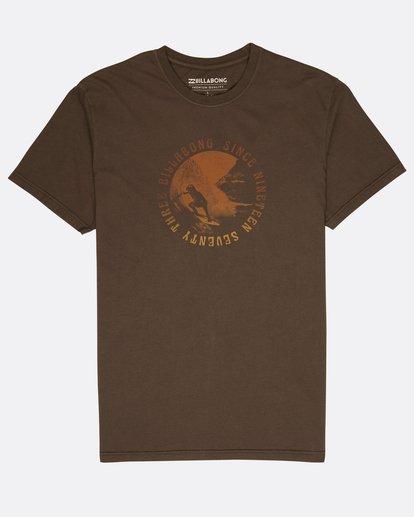 0 Seven T-Shirt Black L1SS14BIF8 Billabong