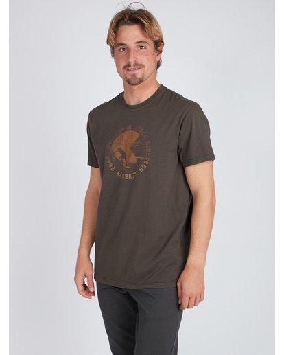 2 Seven T-Shirt Schwarz L1SS14BIF8 Billabong