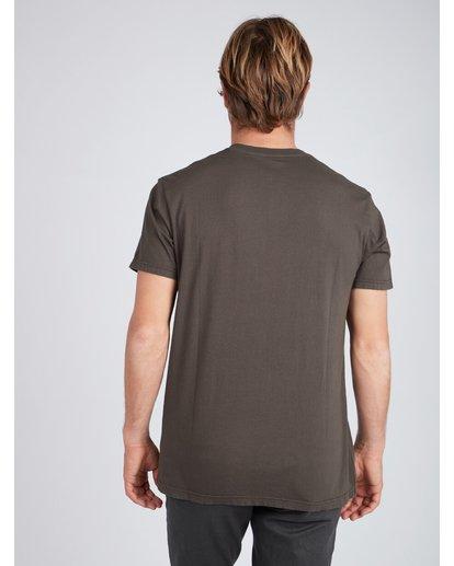 3 Seven T-Shirt Schwarz L1SS14BIF8 Billabong