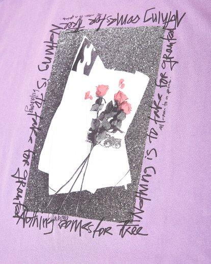 3 Dear One T-Shirt Violett L1SS15BIF8 Billabong