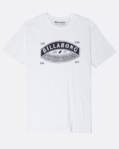 0 Guardiant T-Shirt Weiss L1SS16BIF8 Billabong