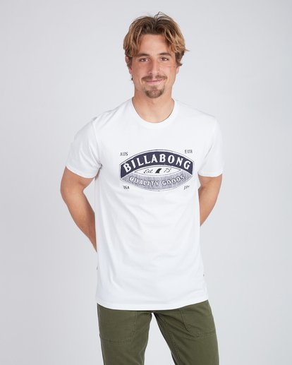1 Guardiant T-Shirt Weiss L1SS16BIF8 Billabong