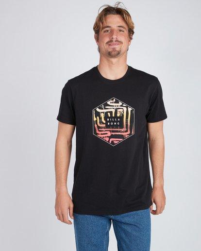 1 Access T-Shirt Noir L1SS17BIF8 Billabong