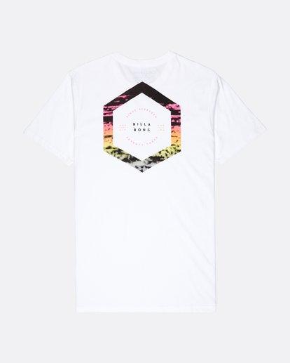 1 Access Back T-Shirt Weiss L1SS18BIF8 Billabong