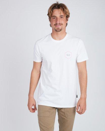 3 Access Back T-Shirt Weiss L1SS18BIF8 Billabong